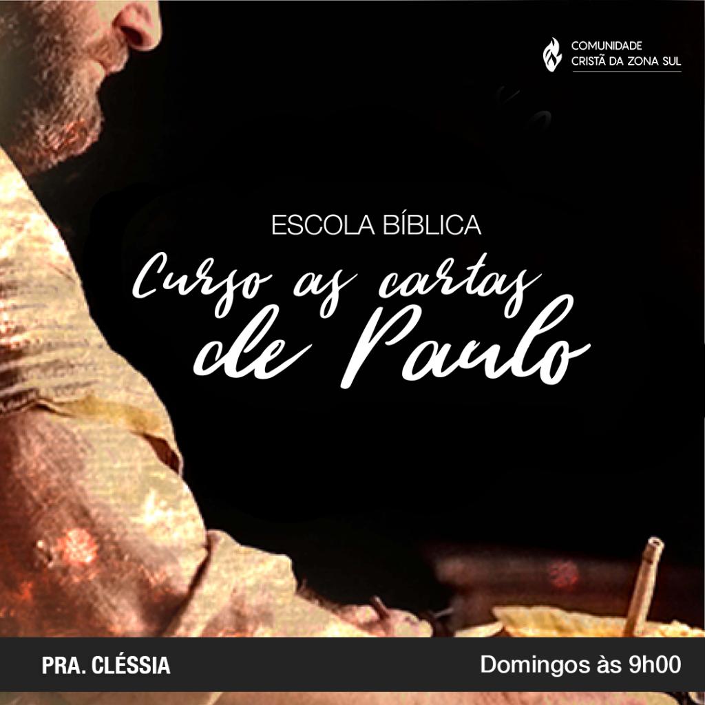 Cartas de Paulo 2019 2